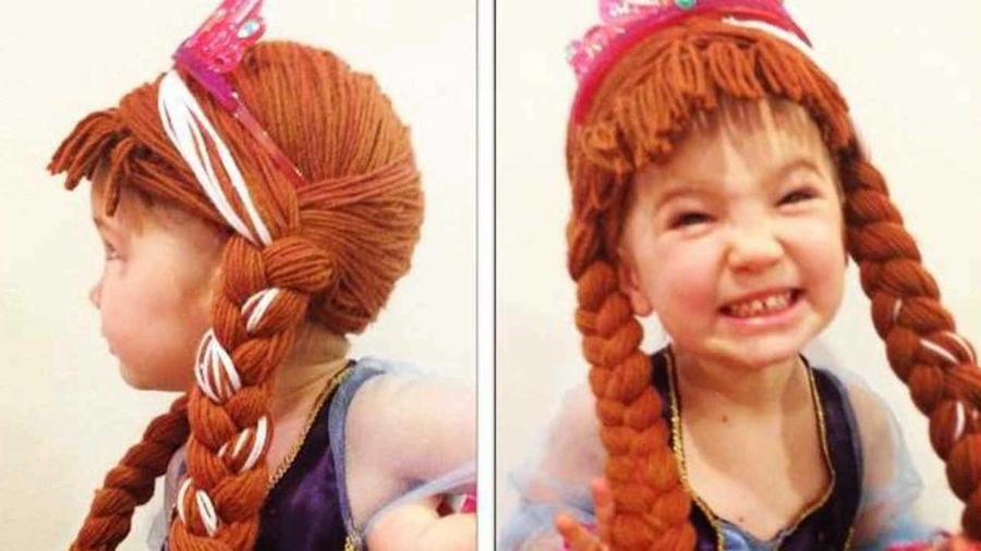 crean pelucas para ninas con cancer inspiradas en princesas de disney