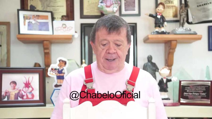 chabelo confirmo en un video que su programa fue cancelado