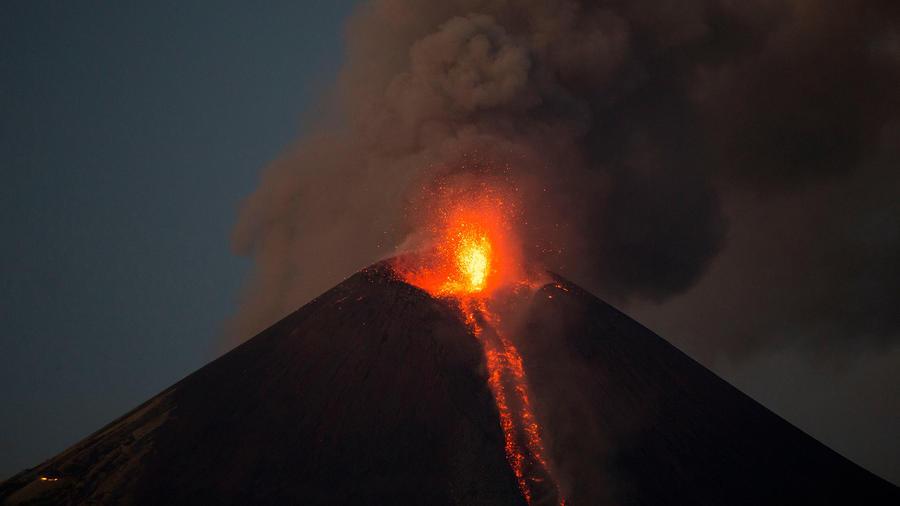 volcan nicaragua registra explosiones