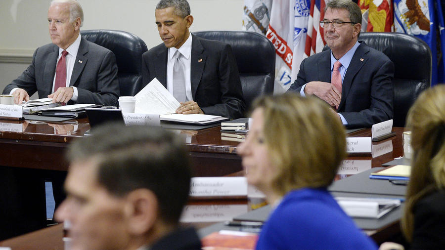 Obama Holds National Security Council Meeting