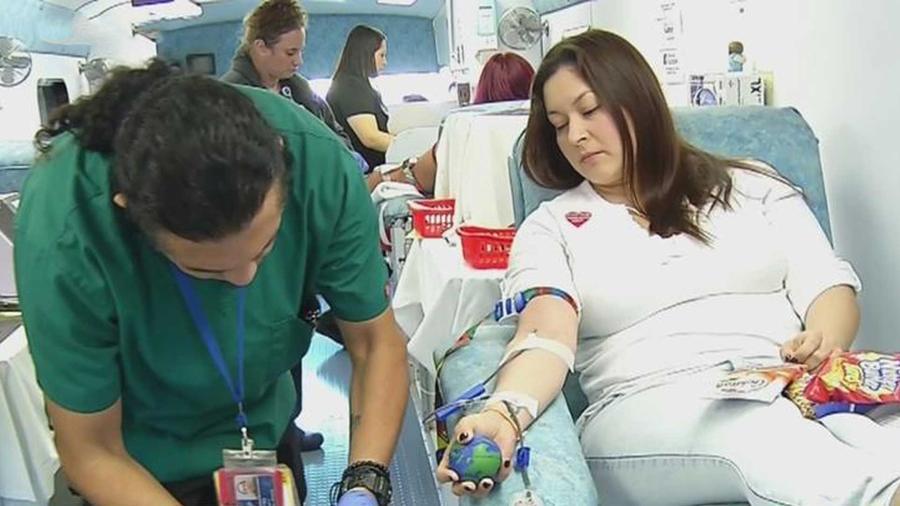 Estos famosos participaron en una noble causa donando sangre