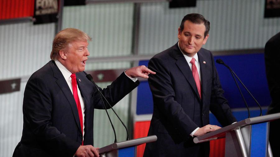 debate donald trump y cruz
