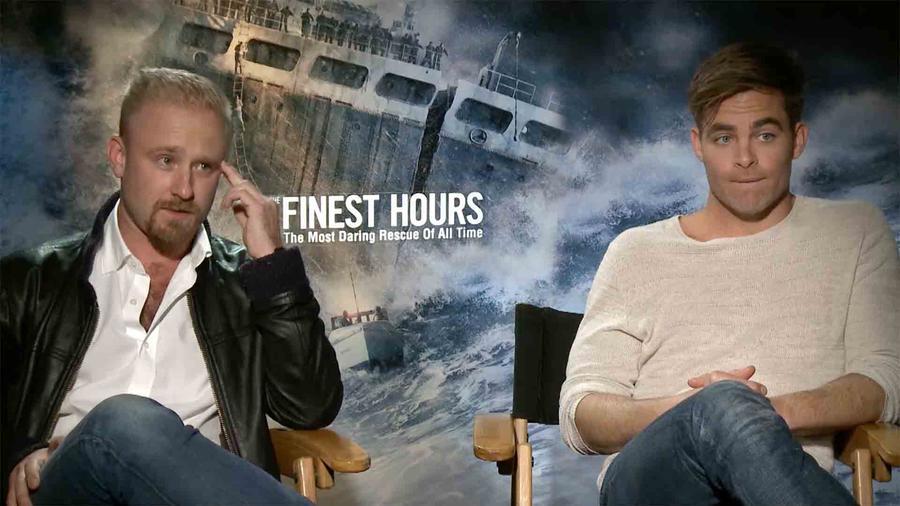 Chris Pine y Ben Foster