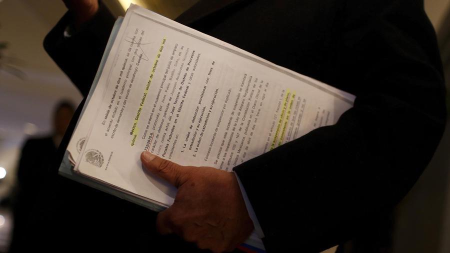 suspension temporal de extradicion del chapo