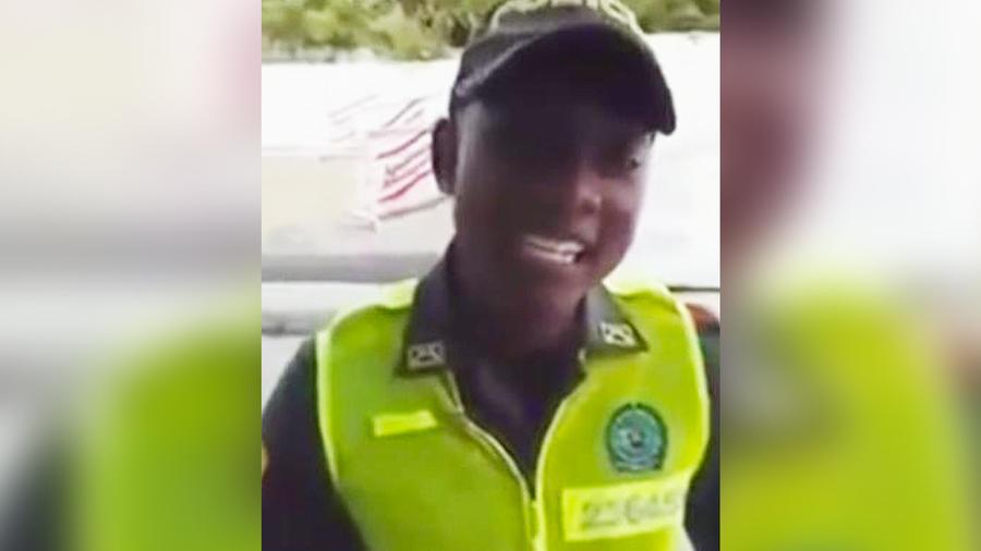 policia colombiano