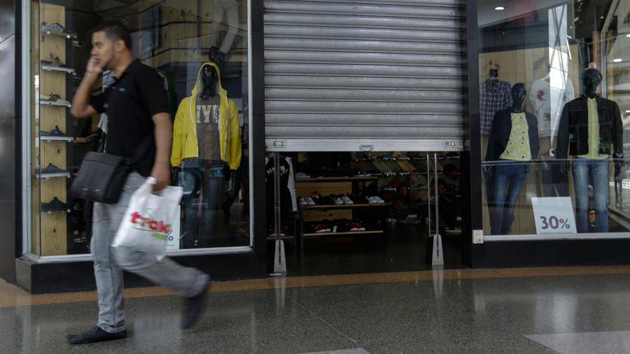 cierran centros comerciales venezuela