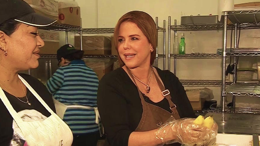 María Celeste Arrarás recuerda su primer trabajo