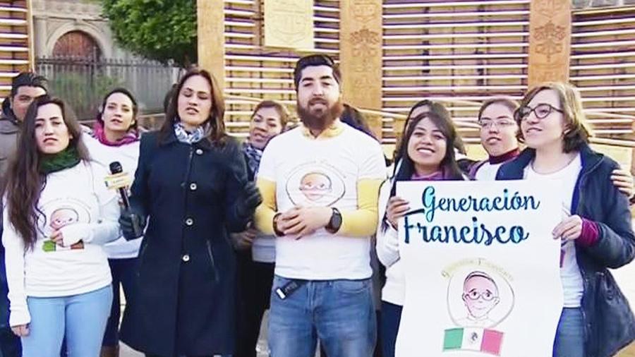 jovenes de mexico visita del papa