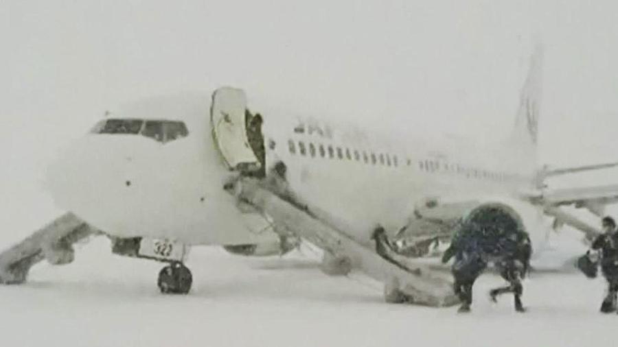 pasajeros evacuados en japon