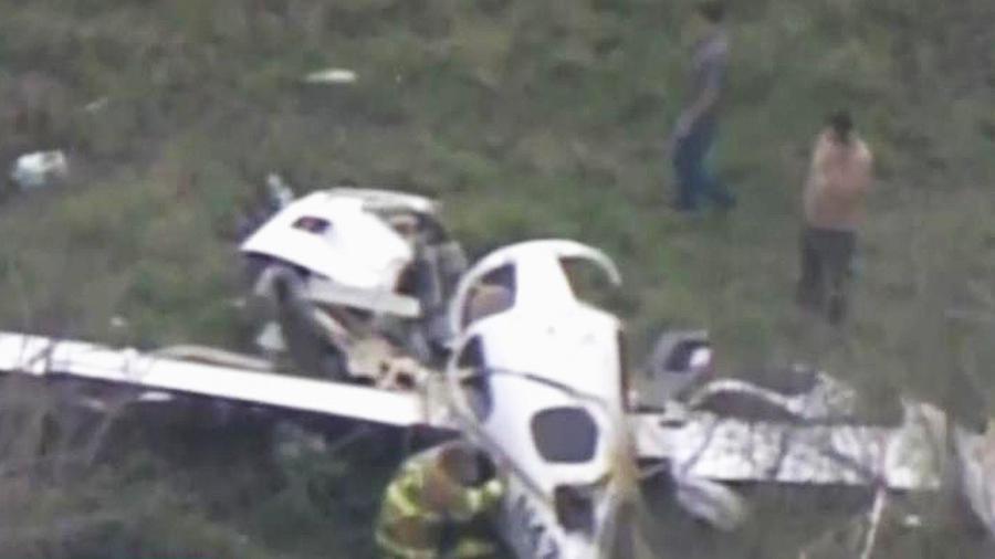 accidente aereo texas
