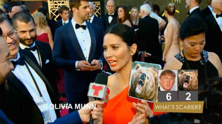 Olivia Munn en los Oscars 2016