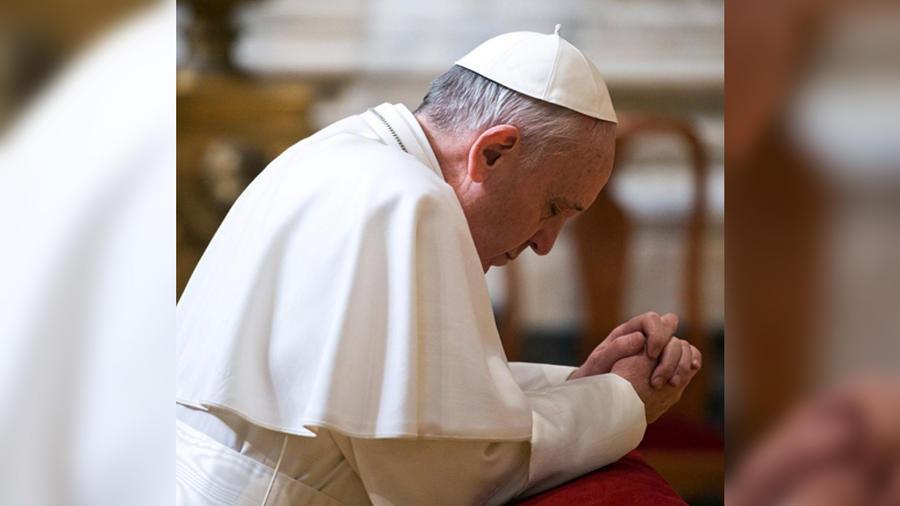 papa orando instagram