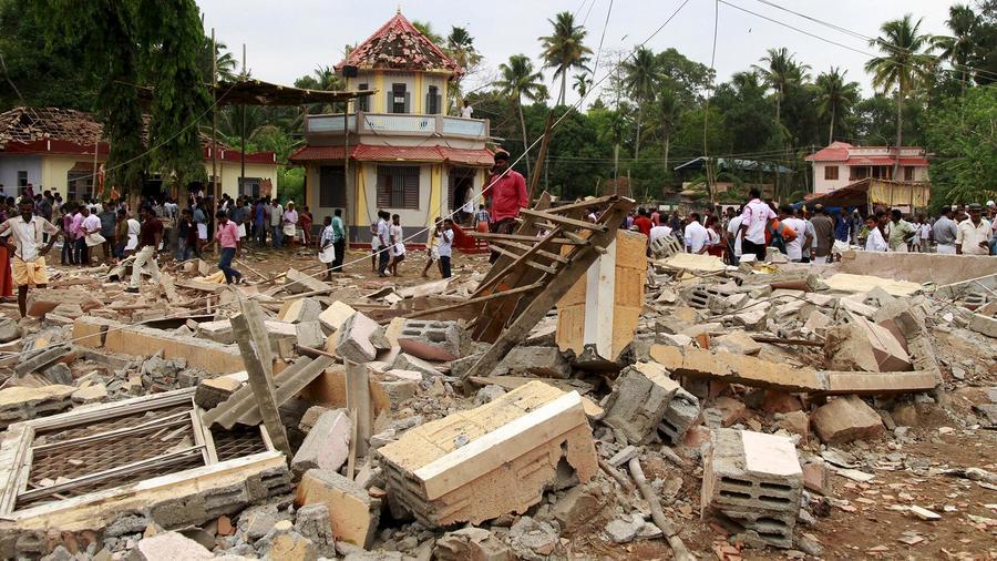 Incendio deja más de cien muertos en India