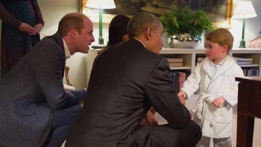 ¡El pequeño Príncipe George enamora a todos!