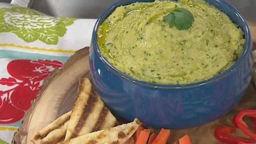 Recetas de cocina: Hummus de Aguacate y Cilantro