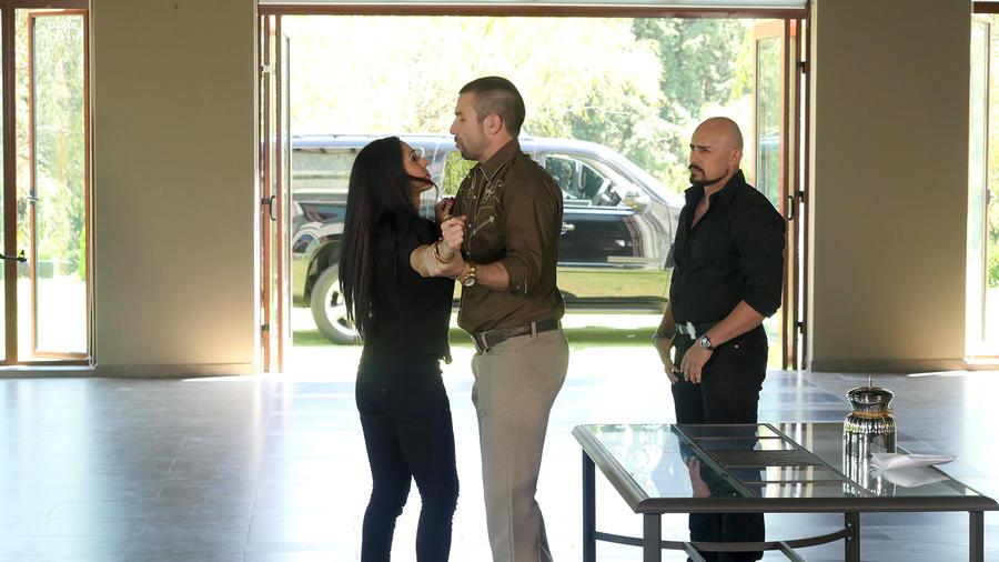 Rafael Amaya, Ivonne Montero, juntos, El Señor de los Cielos Nueva Temporada