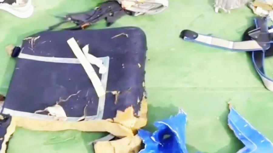 restos de avion aparecen