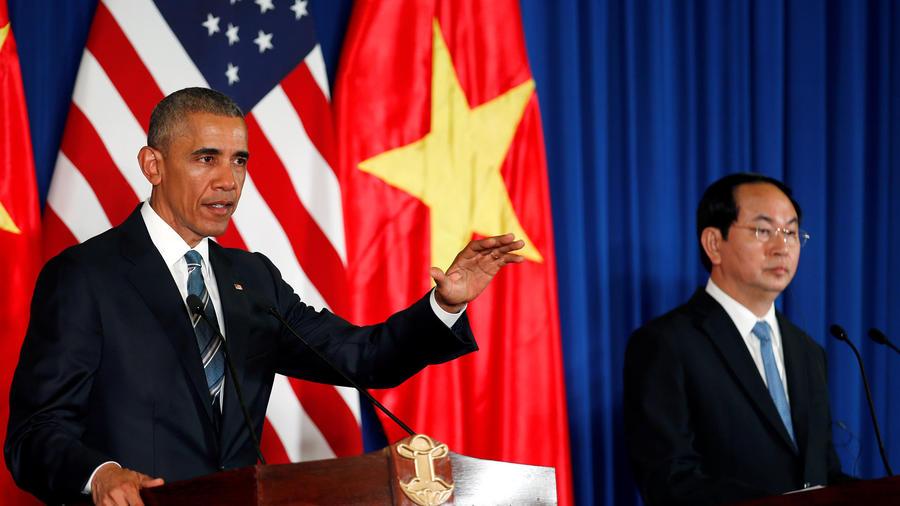 barack obama en vietnam