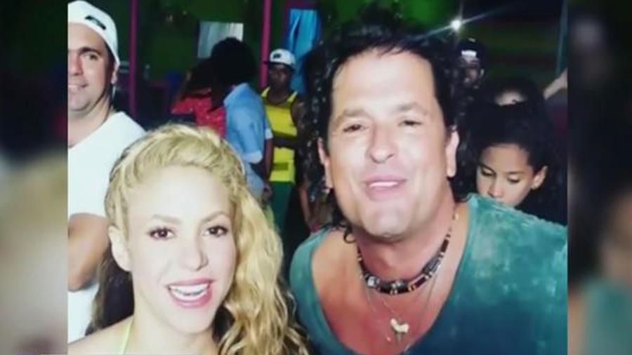 A Carlos Vives y Shakira los une la música otra vez