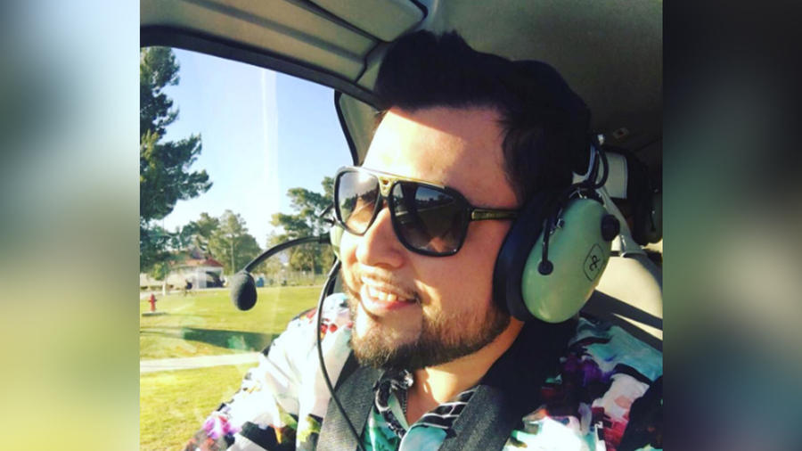 roberto tapia en helicoptero