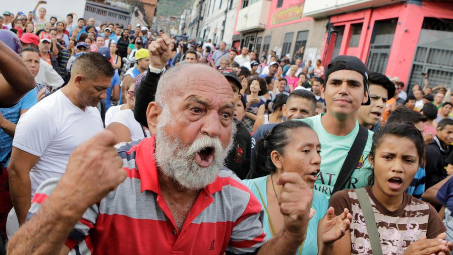 aumenta violencia en venezuela