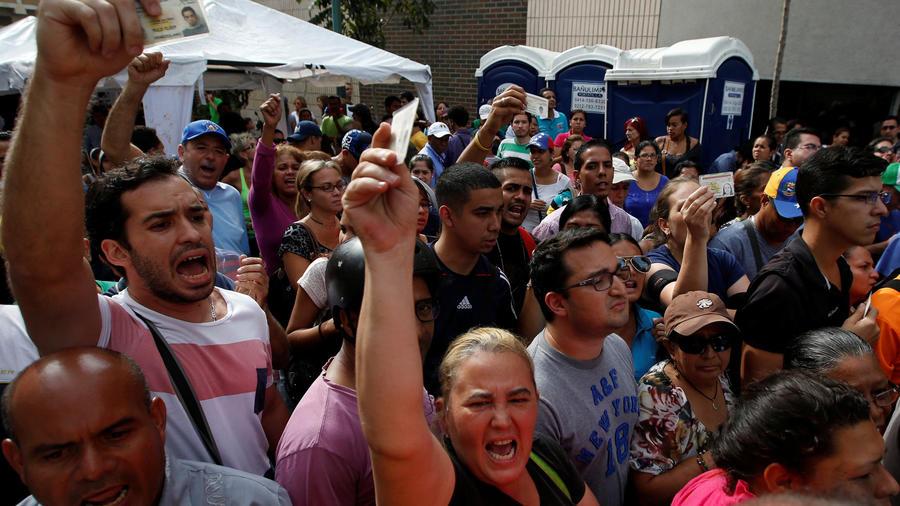 conflictos en venezuela