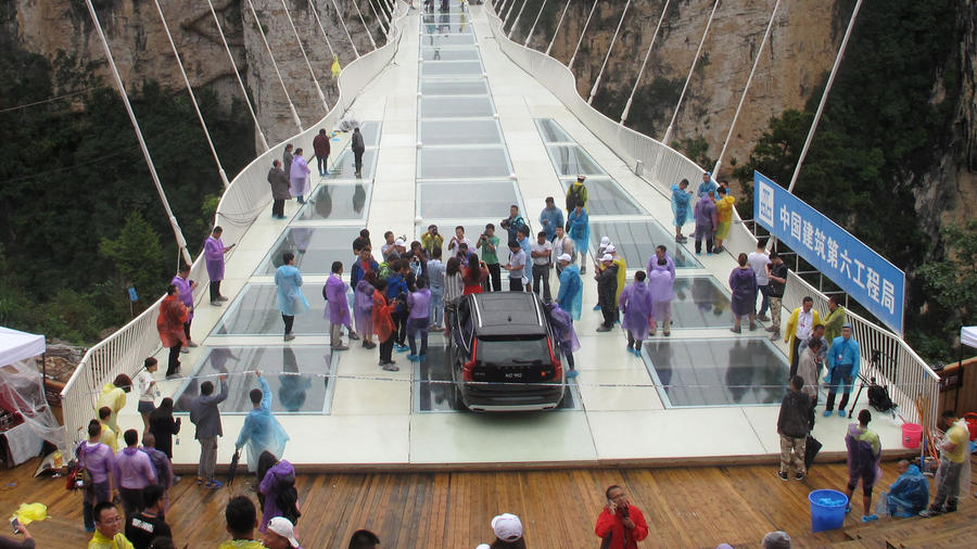 puente de vidrio en china