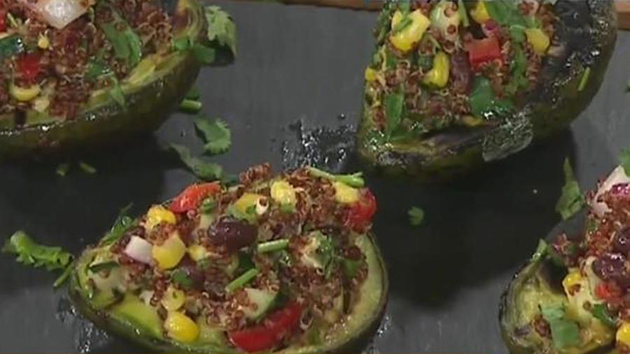 Recetas de cocina: Aguacate a la parrilla con Quinoa