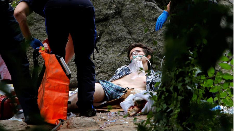 hombre herido en central park