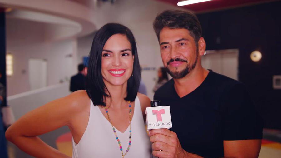 Scarlet Ortiz y Gabriel Porras