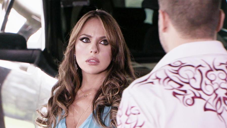 Vanessa Villela, Emiliana Contreras, sorprendida, El Señor de los Cielos Nueva Temporada