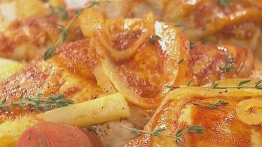 Recetas de cocina: Cómo hacer Molotes de Pollo