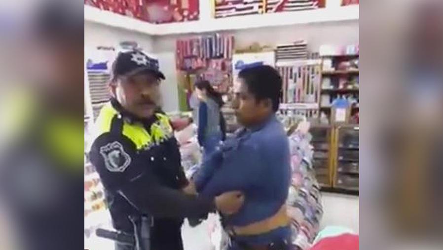 policia extorsionando