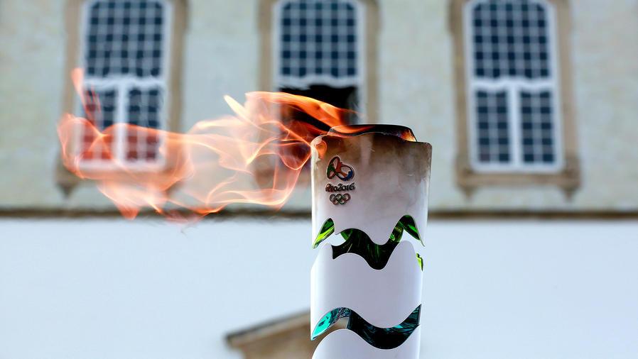 La antorcha olímpica recorre Brasil