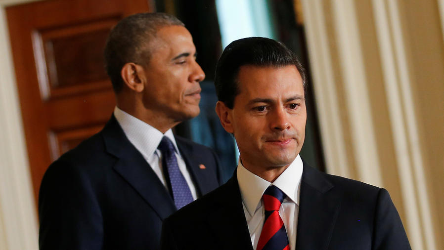 Peña Nieto y Obama se reúnen en La Casa Blanca