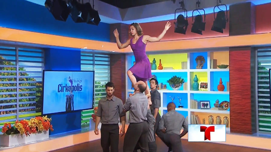 ¡Sorpréndete con los actos acrobáticos de Cirkopolis!