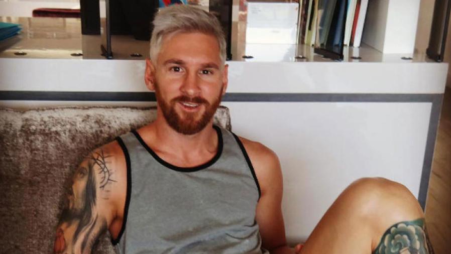 El nuevo look de Messi revolucionó las redes sociales
