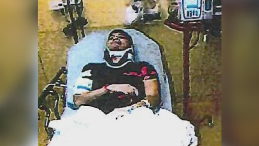 hispano brutalmente detenido
