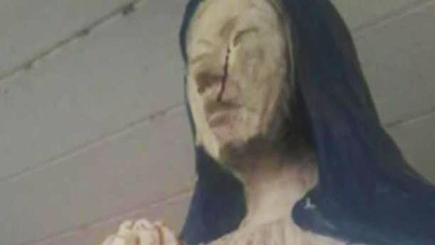 virgen que llora sangre