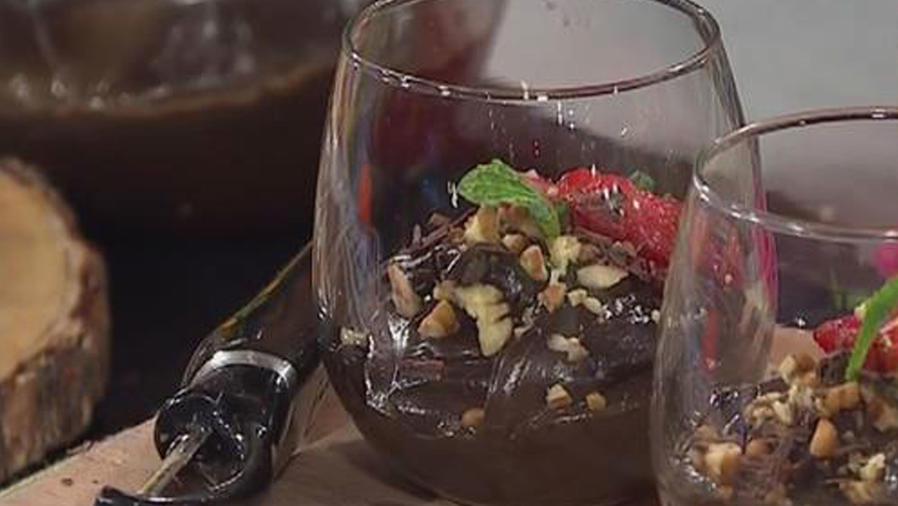 Recetas de cocina: Mousse de Chocolate y Aguacate