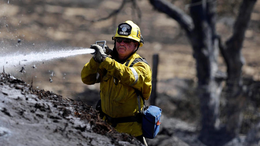 avances en incendio de california