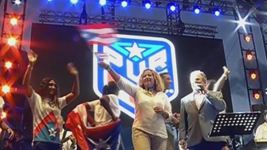 puerto rico recibe a sus olimpicos