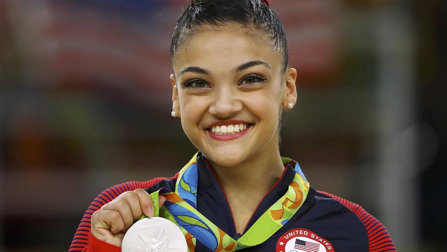Recibida en Nueva Jersey gimnasta olímpica