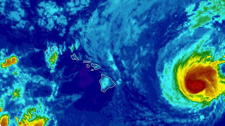 Alerta por mal tiempo en Hawái, Carolina del Norte y Florida