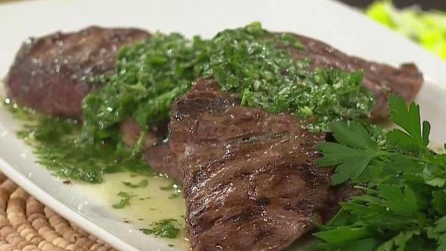 Recetas de cocina: Churrasco con Chimichurri