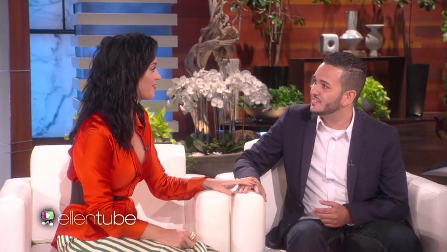 Katy Perry Surprises Orlando Survivor