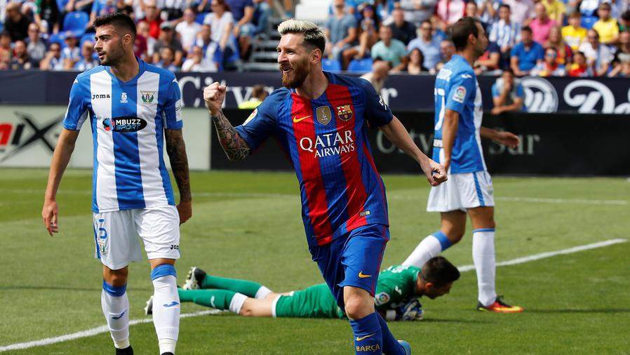 Barcelona derrota a Leganés