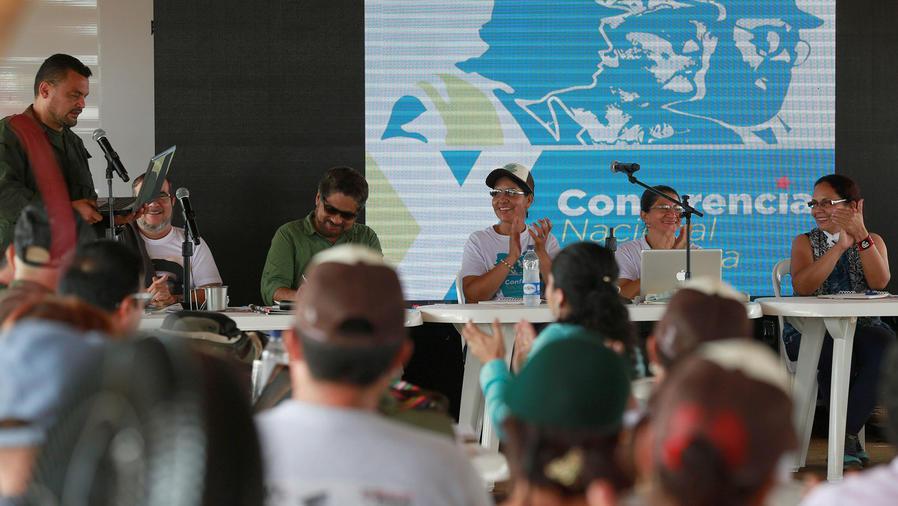 Avanza conferencia entre guerrilleros colombianos