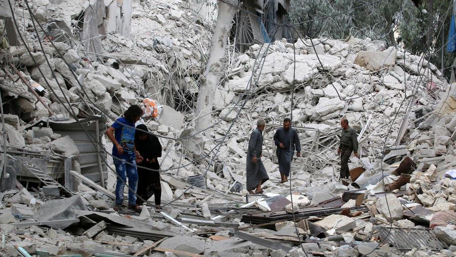 escombros en siria