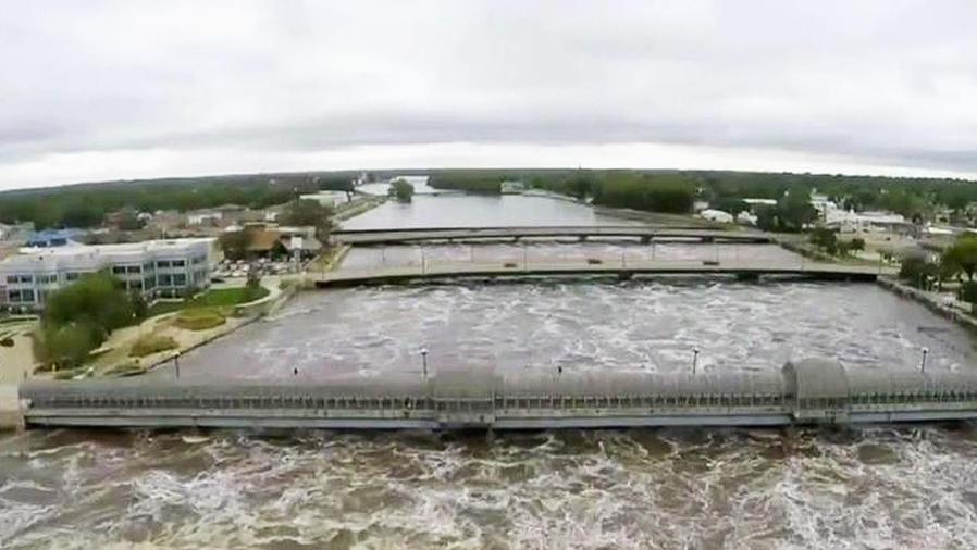 alerta de inundaciones en iowa